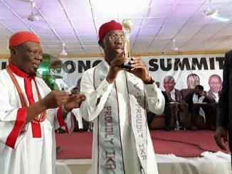 Gov. Okowa at Ika Economic Summit