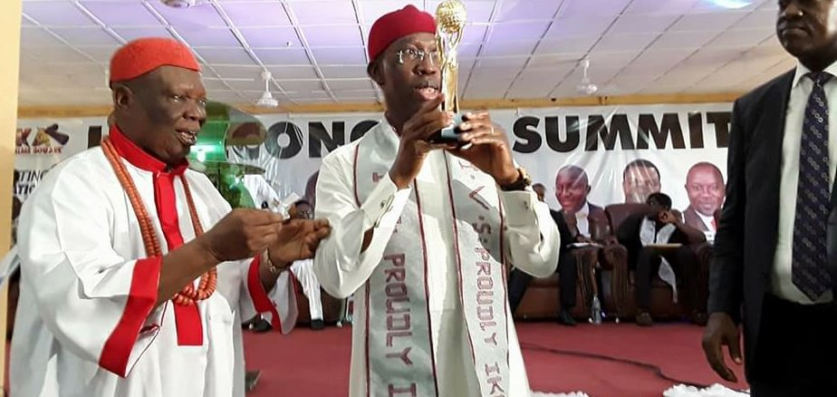 Gov. Okowa at Ika Economic Summit